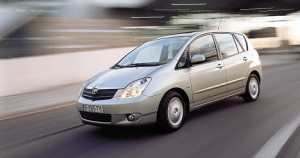 the new Toyota Corolla  3 Jan 2002