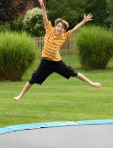 Trampoline 230x300 The 5 Things Every Kid Wants in Their Backyard