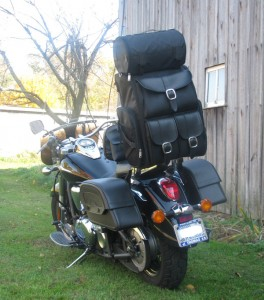 sissy bar bags 264x300 Analytical Review of Key Aspects of Motorcycle sissy bar bags