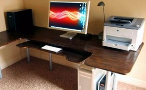 Build Your Own Ergonomic Computer Desk
