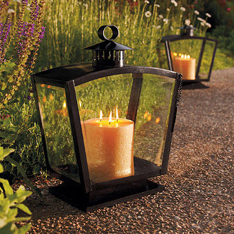 lantern How to Refurbish Your Outdoor Living Space