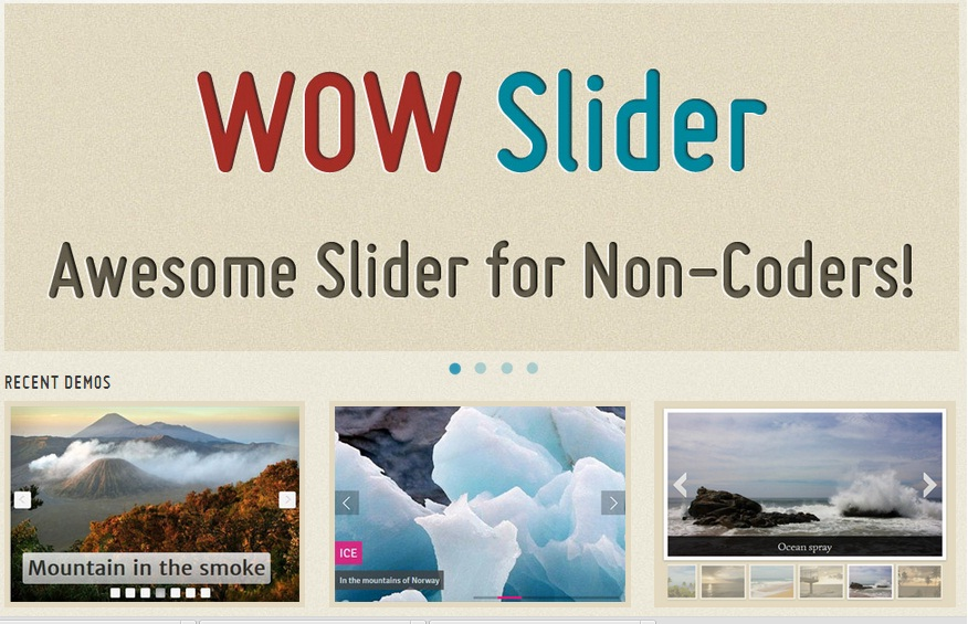 wowslider Super 7 Refreshing jQuery Content Sliders that you need to get your hands on