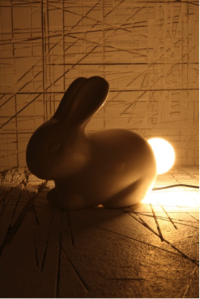 bunny lamp Apartment must haves