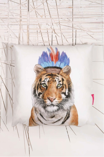 tiger cushion Apartment must haves