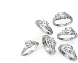vintelegance3 300x244 A Few Wonderful Vintage Engagement Ring Designs