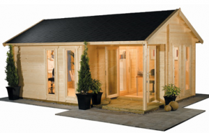 Housing 300x191 Why Should You Choose A Log Cabin For Your Garden