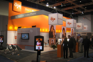 Rental booths can be personalised