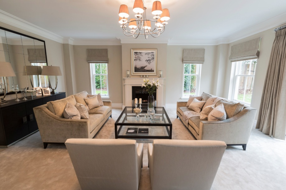 neutral living room Top 6 Ways to Make Your Home Look Luxurious and Sophisticated